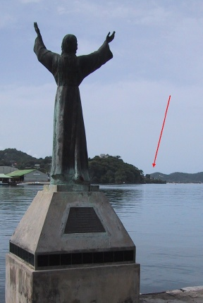Statue of Christ of the Deep